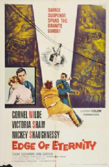 Edge of Eternity 1959 DVD - Cornel Wilde / Victoria Shaw